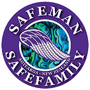 Safe Man Safe Family Logo
