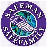 Safe Man Safe Family Logo